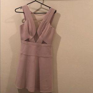 Blush dress BCBG